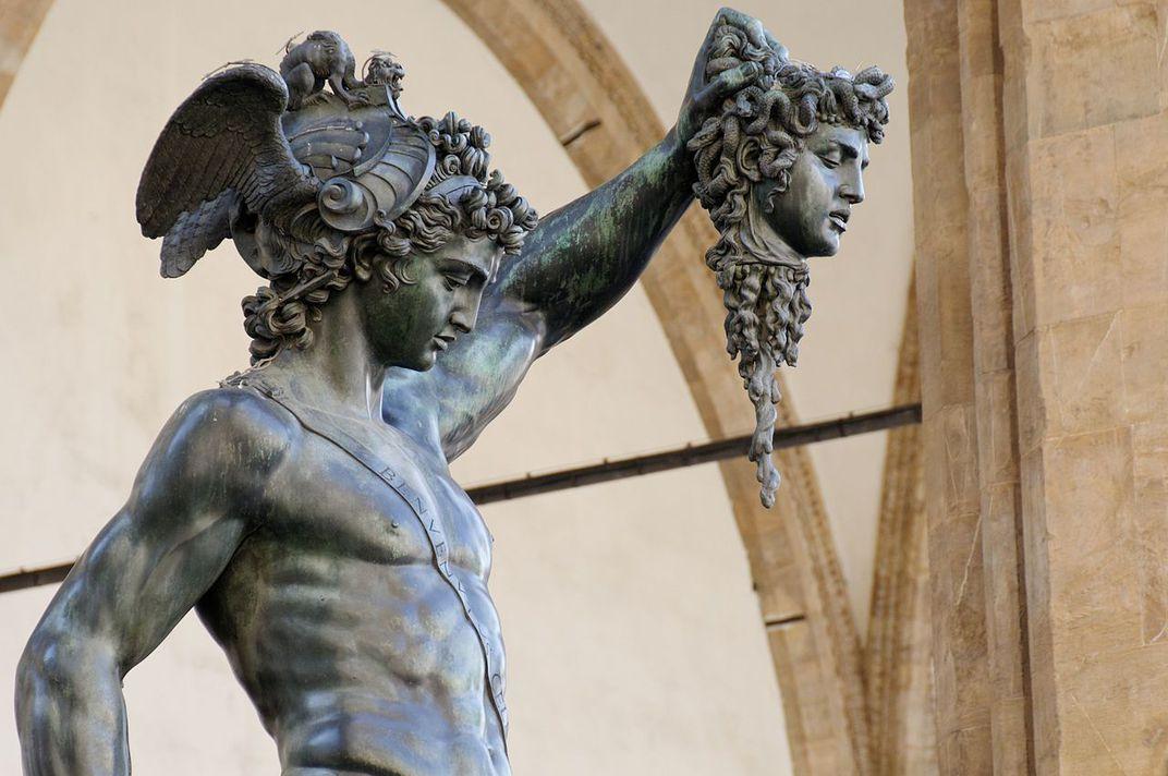 Foto: Benvenuto Cellini / Perseu Com A Cabeça de Medusa